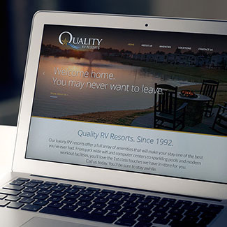 Quality RV Web Design